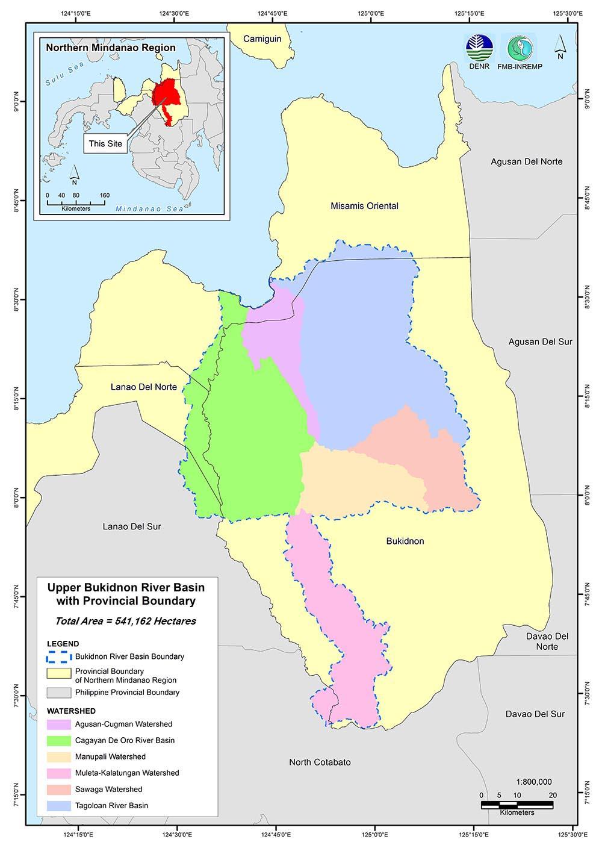 Project Site Upper Bukidnon River Basin
